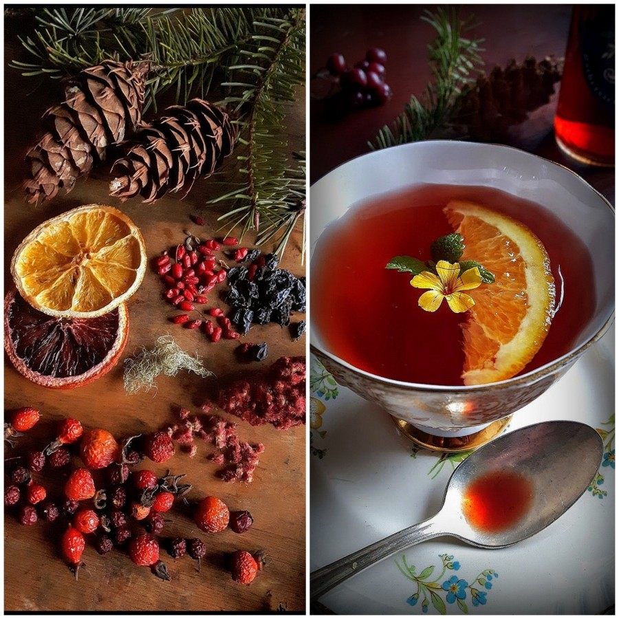 Energizing Winter Tea
