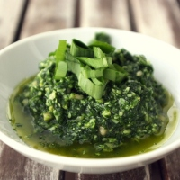 The Yoga of Food: Revitalize with Wild Green Pesto!